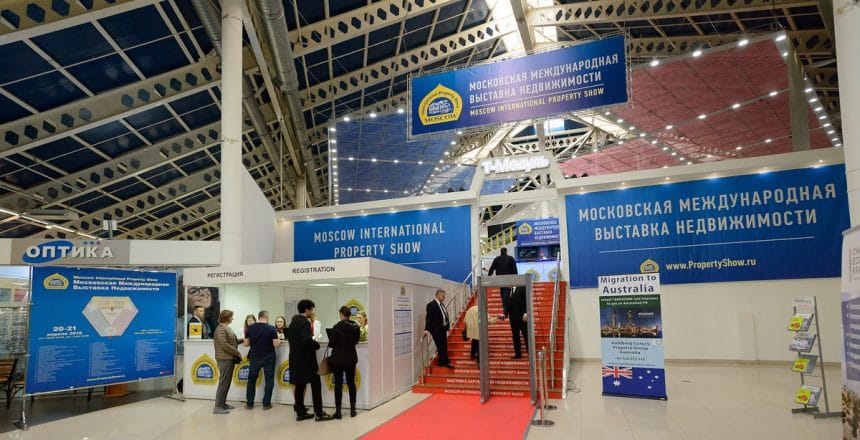 13-14 FEBRUARY 2015 PROPERTY EXHIBITION IN MOSCOW. TISHINKA TRADE CENTRE. STAND 56 1