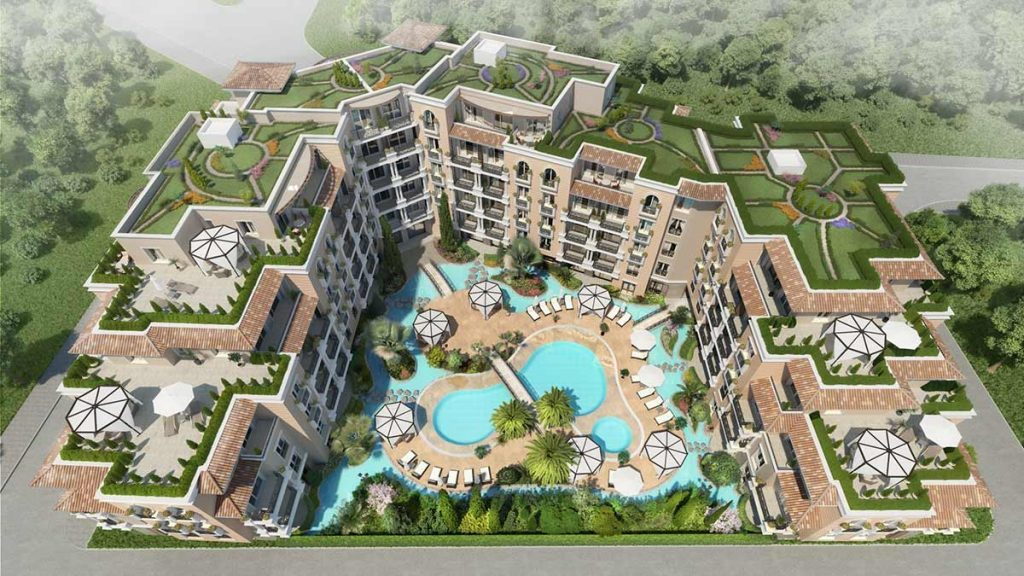 """IMMO RAINBOW ANNOUNCES START OF THE SALES IN ITS NEW COMPLEX """"MESSEMBRIA PALM RESORT 3"""" 12"""