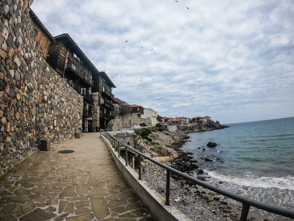 The Old Town of Sozopol in March 1