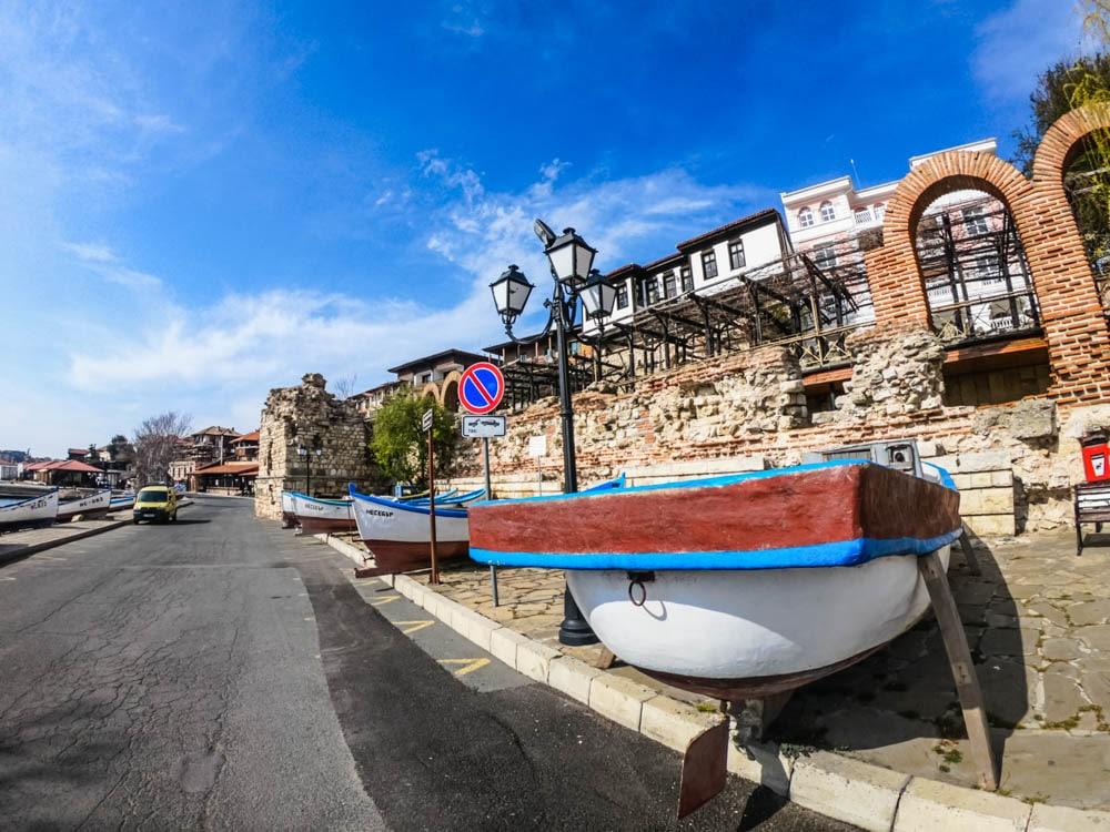 "The coastal street ""Angelo Roncalli"" in Nessebar 1"