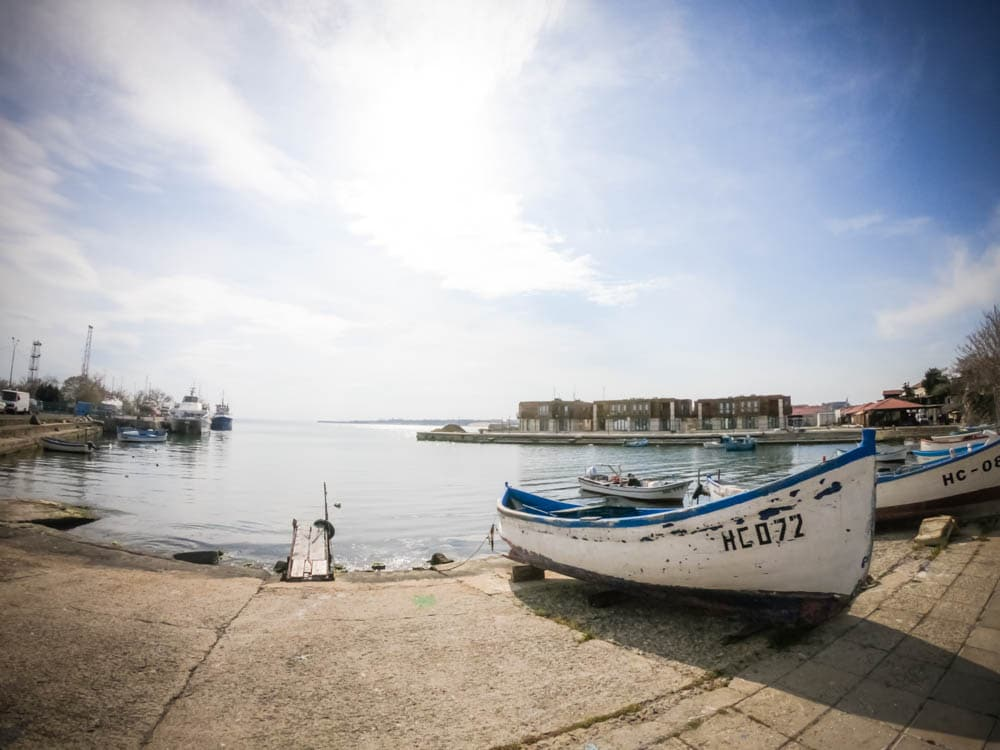 "The coastal street ""Angelo Roncalli"" in Nessebar 3"