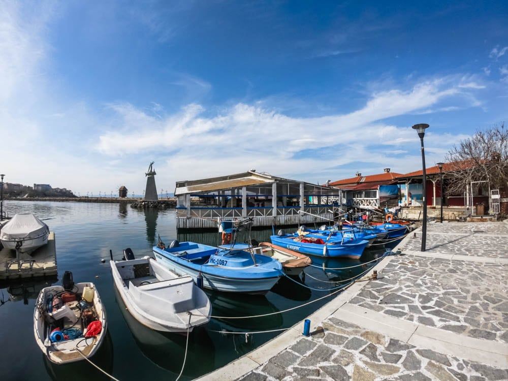"The coastal street ""Angelo Roncalli"" in Nessebar 2"