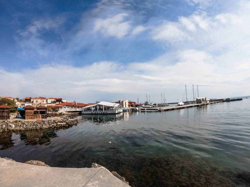 "The coastal street ""Angelo Roncalli"" in Nessebar 4"
