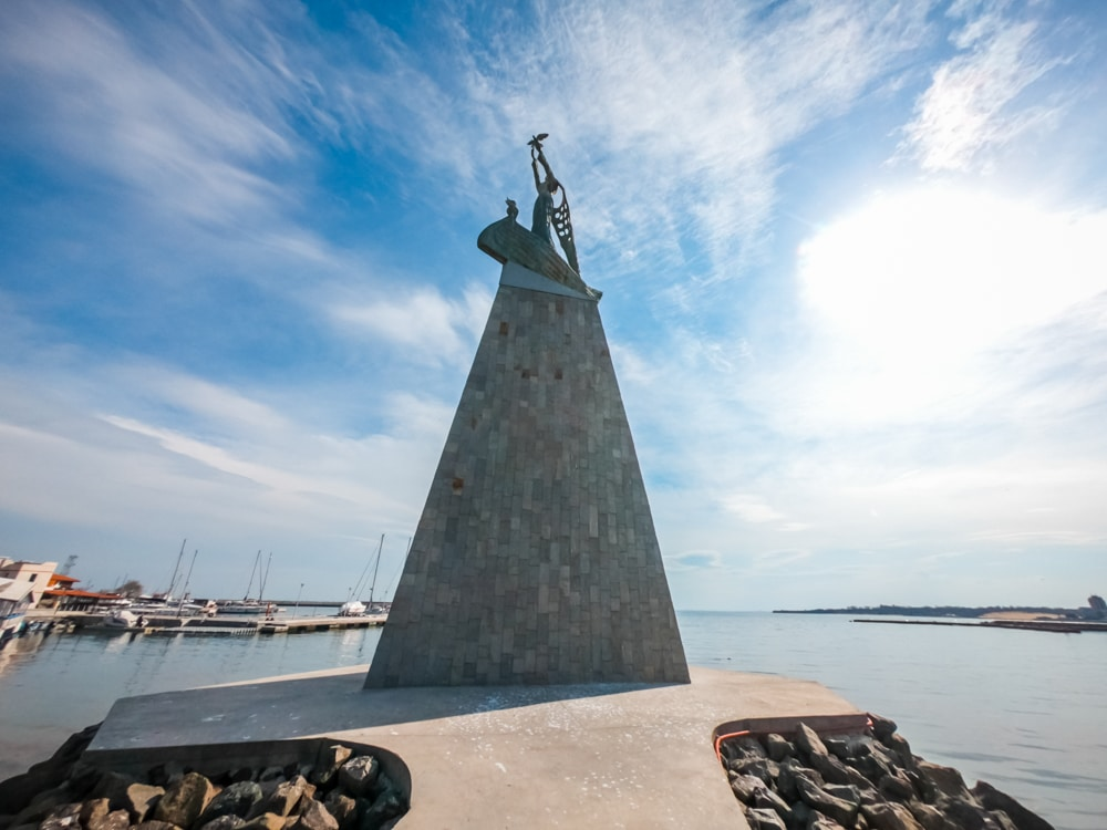 The Statue of the Fisherman in Nessebar 2