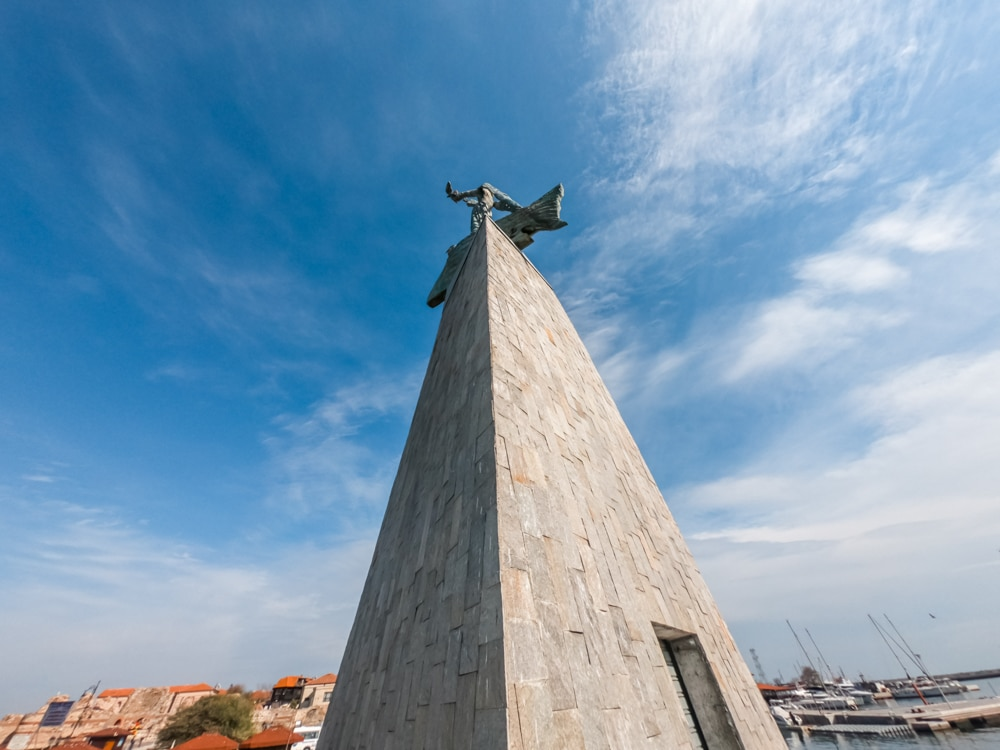 The Statue of the Fisherman in Nessebar 1