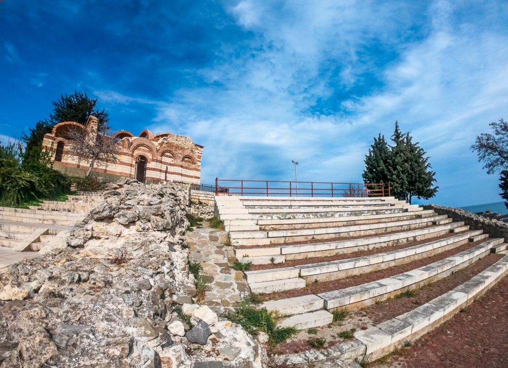 The ancient amphitheater in Nessebar 3