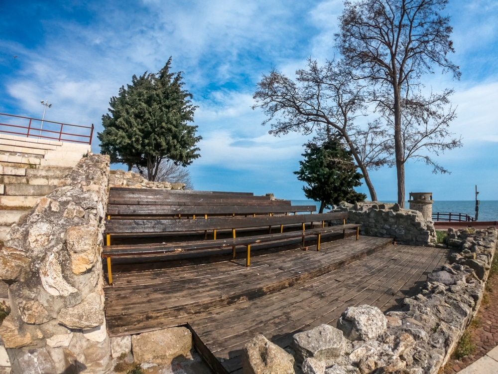 The ancient amphitheater in Nessebar 4