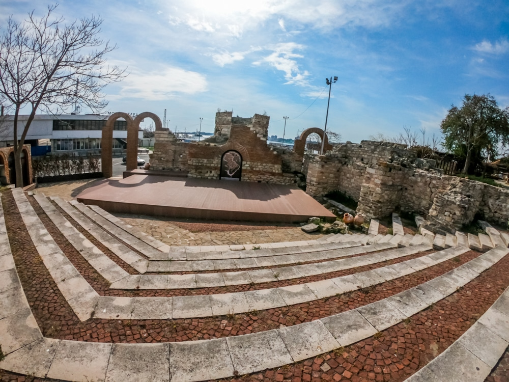 The ancient amphitheater in Nessebar 5