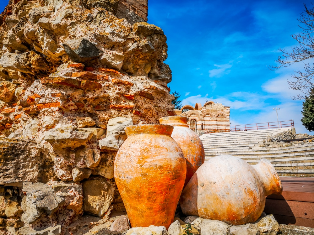 The ancient amphitheater in Nessebar 2