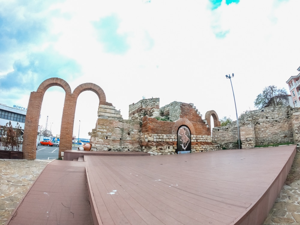 The ancient amphitheater in Nessebar 6