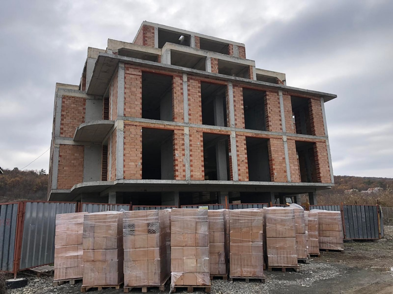 Stage of construction Saint John 2, Sozopol 4